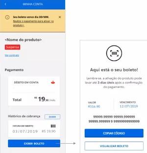 2 via de boleto O Globo Premium (Foto: O Globo Premium)