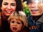 Luciana Gimenez homenageia filho Lucas em rede social: 'Hoje é seu dia!'