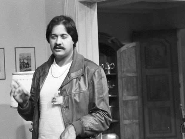 Roberto Talma na direção da novela Água Viva em 1980 (Foto: CEDOC / TVGLOBO)