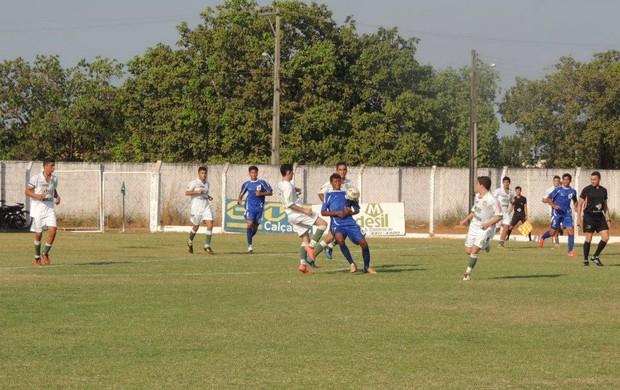 Interporto (azul) joga contra o Tocantinópolis nesta rodada (Foto: Gil Correia/Arquivo Pessoal)