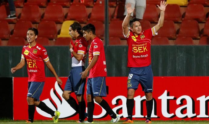 Gustavo Canales gol Union Espanhola (Foto: Reuters)