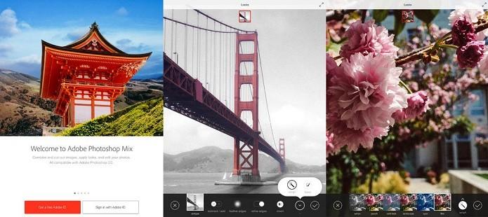 Photoshop Mix permite editar imagens em PSD (Foto: Divulgação/AppStore)