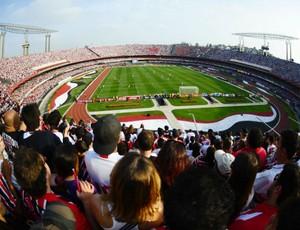 Jogo no Morumbi marca recorde de público no Brasileirão-2011 (Foto: Marcos Ribolli / globoesporte.com)