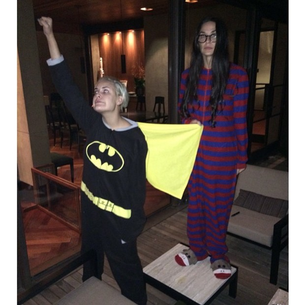 Tallulah Willis e Demi Moore se divertem (Foto: Instagram/ Reprodução)