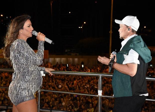 Ivete Sangalo e Netinho (Foto: Felipe Souto Maior/AgNews)