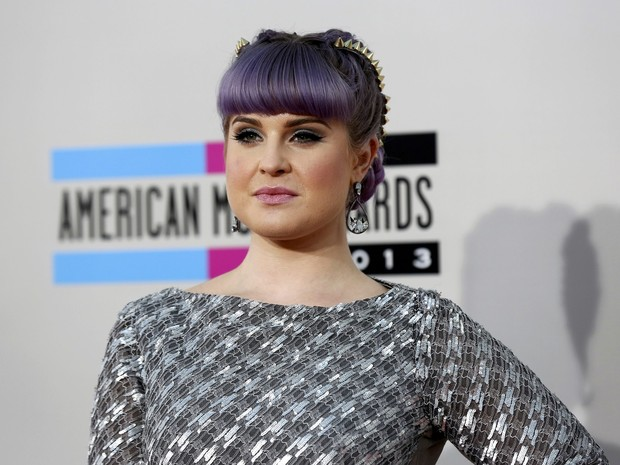 Kelly Osbourne no American Music Awards em Los Angeles, nos Estados Unidos (Foto: Mario Anzuoni/ Reuters)