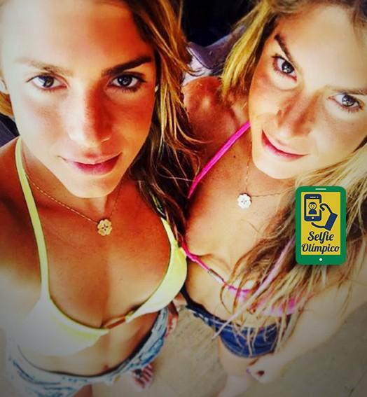 carrossel_selfie_olimpico-Bia-e-Branca-Feres (Foto: infoesporte)