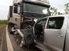 Promotor de Justiça de MT morre em acidente entre caminhonete e carreta