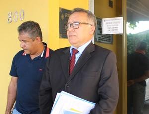 Advogado do Ji-Paraná, Fernando Maia (Foto: Jheniffer Núbia/GloboEsporte.com)