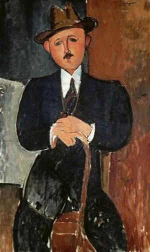 Quadro de Modigliani foi apreendido no porto de Genebra (Foto: Reprodução/Amazon.com)