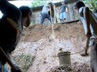 Chuva em Santa Catarina provoca desabamentos e fecha porto