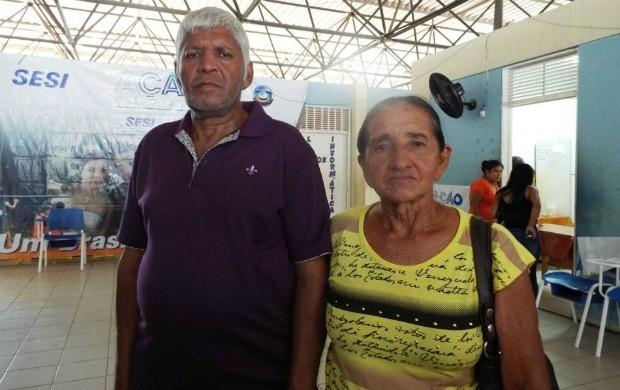 Israel Kaan e Maria da Cunha estão juntos há 40 anos (Foto: Bruna Cássia/Rede Amazônica)