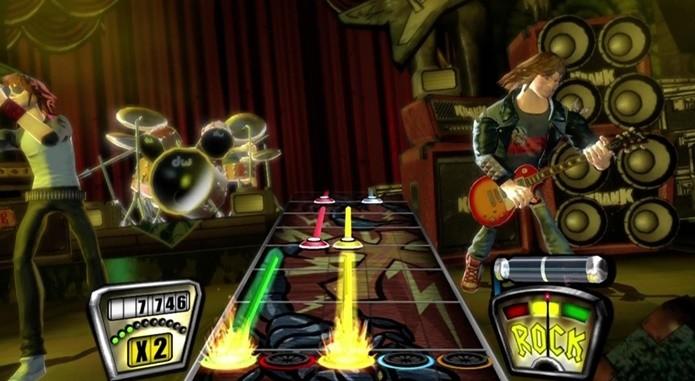 Guitar Hero 2 é um dos títulos mais vendidos da franquia musical (Foto: Divulgação/Activision)