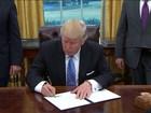 Decreto de Trump tira EUA do maior acordo comercial do mundo