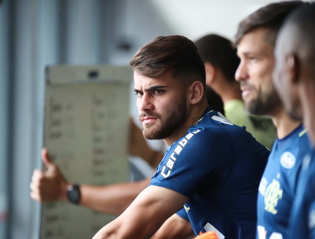 Felipe Vizeu Treino Flamengo