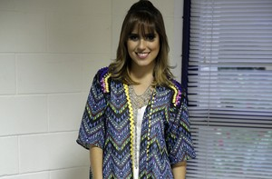 Camilla Camargo fala sobre ciúmes do pai (Pedro Curi/TV Globo)