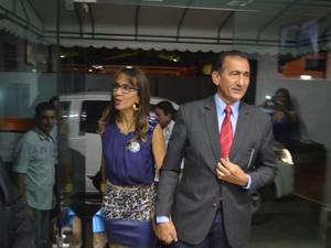 Candidato ao governo Waldez, do PDT (Foto: John pacheco/G1)