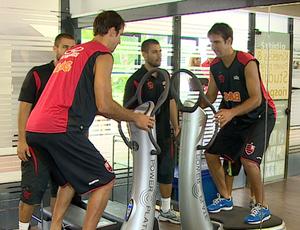 Marcelinho Machado, jogador de basquete do Flamengo (Foto: Reprodução SporTV)