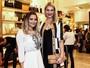 Geisy Arruda e Ana Hickmann vão a evento em São Paulo
