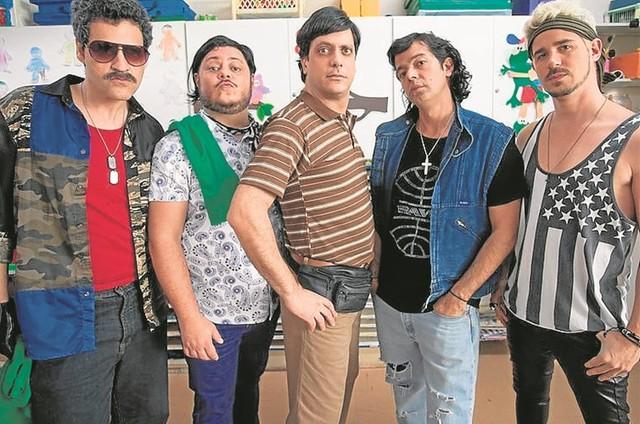 Bruno Garcia, Marcus Majella, Lucio Mauro Filho, Bruno Mazzeo e Pedro Neschling  (Foto: Divulgação)