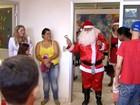Crianças em tratamento contra o câncer ganham festa especial de Natal