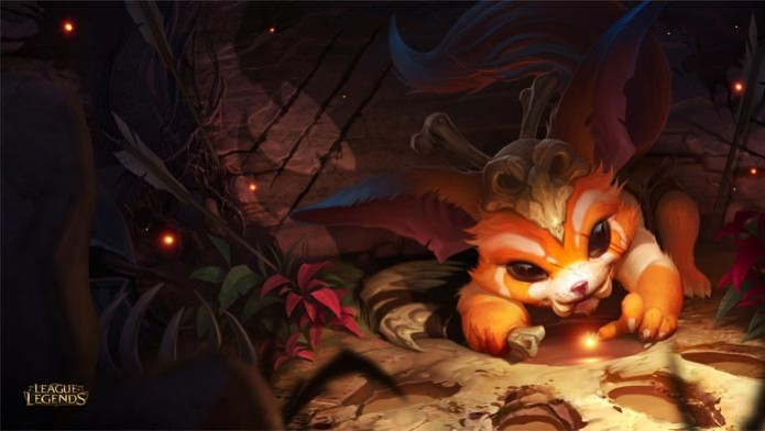 Gnar, novo personagem em League of Legends (Foto: Divulgação) (Foto: Gnar, novo personagem em League of Legends (Foto: Divulgação))