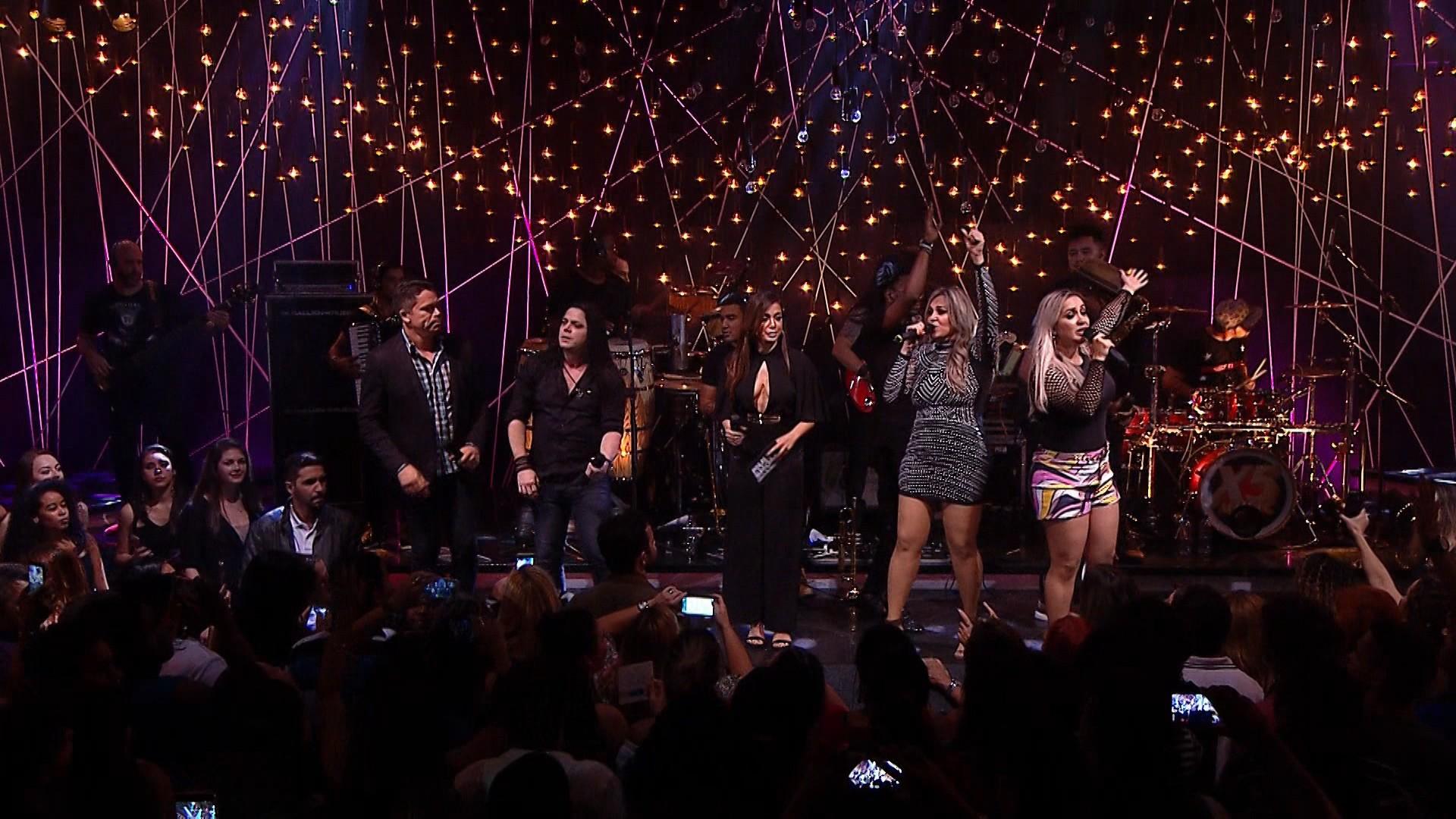 Anitta arrasou com Calcinha Preta, Mumuzinho e Pixote no Msica Boa Ao Vivo (Foto: Multishow)