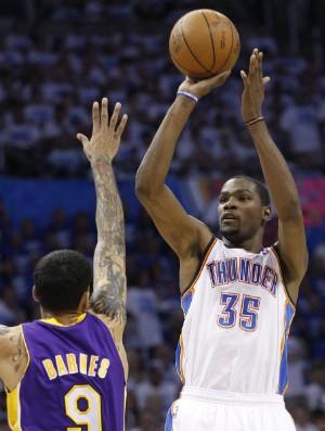 Kevin Durant, Oklahoma City Thunder (Foto: AP)