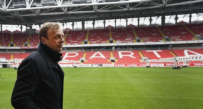 Colin Smith na Otkrytie Arena em Moscou Copa do Mundo 2018 (Foto: AFP)