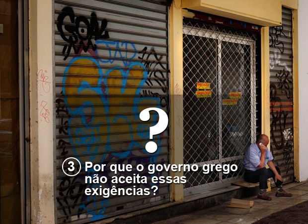 Por que o governo grego não aceita essas exigências? (Foto: Daniel Ochoa de Olza / AP)
