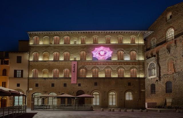 The facade of the 'Gucci Garden' (Foto: GUCCI)