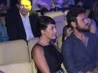 Fabíula Nascimento e Emilio Dantas vão juntos a prêmio no Rio