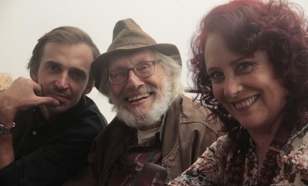 Júlio Andrade contracenou com Pietro Bogianchini e Tamara Taxman no longa 'Maresia' (Foto: Divulgação)
