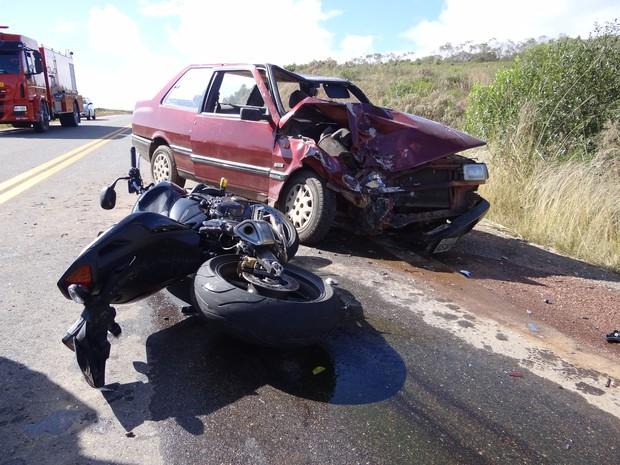 Acidente Caçapava do Sul RS  (Foto: Marcelo Marques/Farrapo.rs)