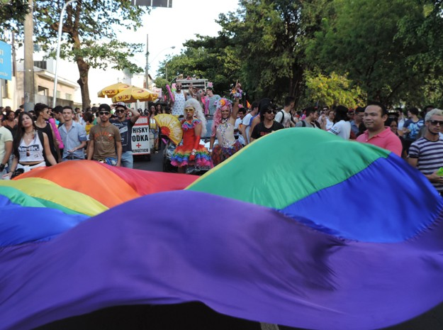 Cerca de duas mil pessoas foram ao Parque do Povo, segundo a PM (Foto: Jonathan Oliveira/G1)