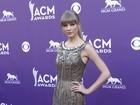 Taylor Swift e mais famosos vão a prêmio country nos EUA