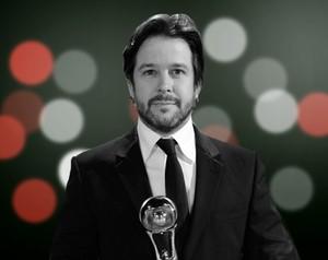 Murílo Benício é 'congelado' como o melhor ator de 2012 (Foto: Domingão do Faustão/ TV Globo)