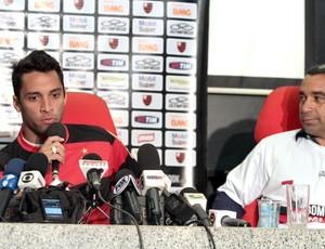 Ibson Zinho Flamengo (Foto: Fernando Azevedo / Fla Imagem)