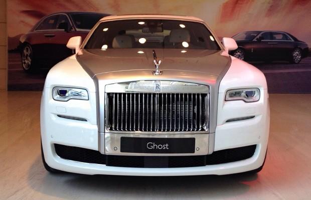 Rolls-Royce Ghost Series II é lançado em São Paulo (Foto: Michelle Ferreira/Autoesporte)