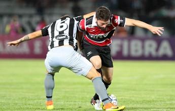 """Botafogo """"faz a quina"""", afunda o Santa Cruz e se consolida no G-6 da Série A"""