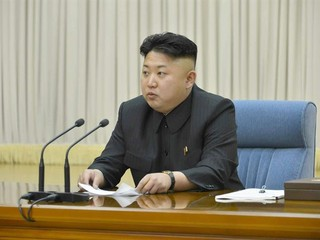 O líder da Coreia do Norte, Kim Jong-un (Foto: EFE/EPA/KCNA SOUTH KOREA OUT)