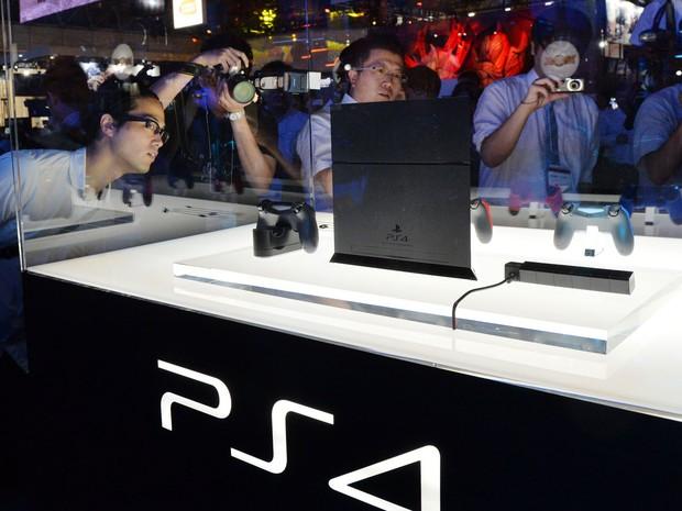 PlayStation 4 é um dos destaques da TGS 2013 (Foto: Yoshikazu Tsuno/AFP)