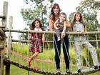 Mãe de três, Vera Viel fala sobre maternidade: 'É o que faço de melhor'
