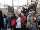 Imigrantes na entrada do Eurotúnel provocam caos ferroviário