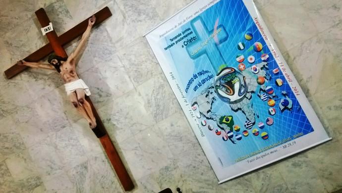 Padre Tarcísio Monay Paróquia Sagrado Coração Juiz de Fora 5 (Foto: Roberta Oliveira)