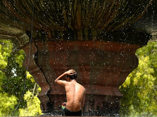 Onda de calor na Índia deixa 800 mortos (Foto: Chandan Khann/AFP)
