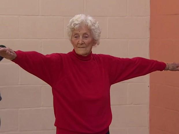 Eileen Ash completa 105 anos neste domingo (30) (Foto: BBC)