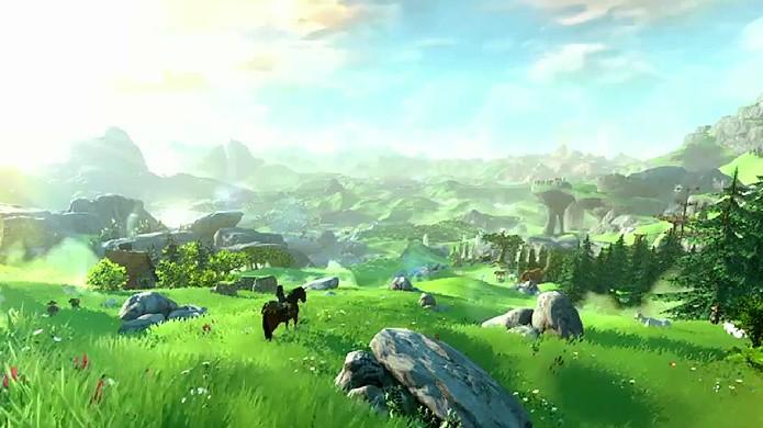 Novo The Legend of Zelda para Wii U trará um mundo incrivelmente vasto (Foto: Reprodução: YouTube)