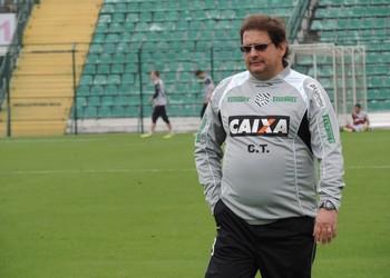 guto ferreira figueirense (Foto: Renan Koerich)