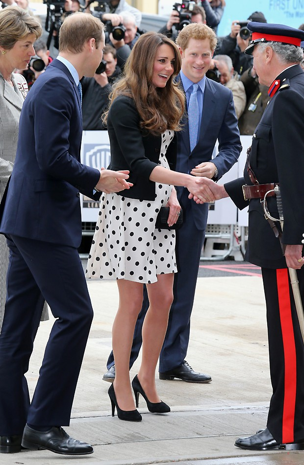 Kate William e Harry (Foto: AFP)